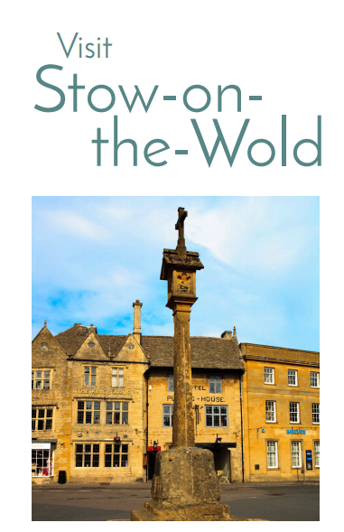 Visit Stow-on-the-Wold leaflet front cover